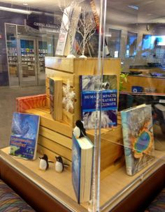 Weather Display. 1/14. Display: Judy MacQueen. Photo: Sylvia Frost.