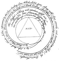 Jacob Boehme: The Trinity unmanifest; or rather, the Triune Unsearchable Being, which cannot be an object of any created Understanding.
