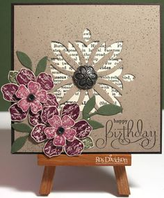 Happy birthday by ros - Cards and Paper Crafts at Splitcoaststampers