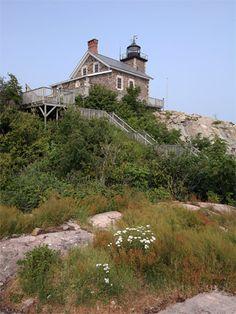 Granite Island Lighthouse, Michigan at Lighthousefriends.com