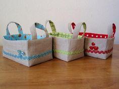 Easter Basket Sewing Tutorial | Sewing Baskets