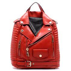 Motorcycle Jacket Backpack Handbag (Red) Le Miel http://www.amazon.com/dp/B00V5DUGBE/ref=cm_sw_r_pi_dp_4yehvb02YCXQ1