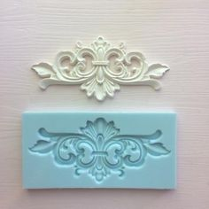 Your place to buy and sell all things handmade How To Make Silicone, House Arch Design, Motif Arabesque, Plaster Crafts, Baroque Decor, Diy Home Cleaning, Iron Orchid Designs, Chalk Paint Projects, Do It Yourself Home