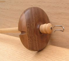 A personal favorite from my Etsy shop https://www.etsy.com/ca/listing/518513568/viking-santa-drop-spindle-lg-eds0940