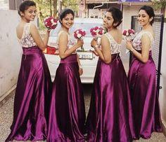 Whatsapp on 9496803123 to customise handwork sarees dresses bridal sarees blouses lehenga gowns etc Indian Wedding Bridesmaids, Bridesmaid Saree, Saree Wedding, Wedding Gowns, Bridesmaid Ideas, Bridal Sarees, Wedding Flower Girl Dresses, Bridal Dresses, Flower Girls