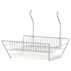 BYGEL Dish drainer - IKEA - Totally European idea but what if did hanging dish drainer above sink and removed overhead cabinets just over the sink? $5.99