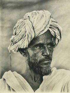 Somali nomadic man about 1930s.