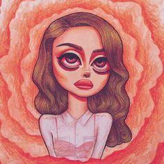 • Carmen • Lana Del Rey #LDR #art by Peter Curtis