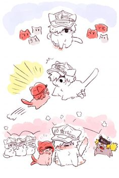 Hataraku Saibou (Cells at Work! Comic Anime, Me Anime, Fanarts Anime, Otaku Anime, Anime Comics, Anime Chibi, Anime Love, Kawaii Anime, Manga Anime