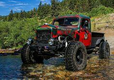 1952 Dodge Power Wagon Sports LS Engine - Wagon - Ideas of Wagon - 1952 Dodge Power Wagon Sports LS Engine Dodge Trucks, Jeep Truck, Pickup Trucks, Truck Drivers, Dually Trucks, Sport Truck, Dodge Power Wagon, Dodge Wagon, Cool Trucks