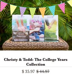 The Collection Sale continues! Want to gift your #foreverfriends with Christy Miller, Katie Weldon, Sierra Jensen Series? Now is your best chance. Sale ends Dec. 31st! #christymoment #bookshoprobingunn