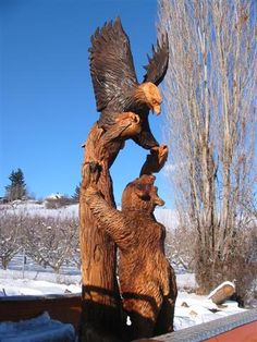Chainsaw Carved Wood Benches | Chain saw wood carvings of benches. – Chainsaw Carvings and Art