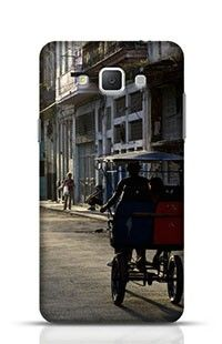 Streets Of Old Havana Samsung Galaxy A5 Phone Case