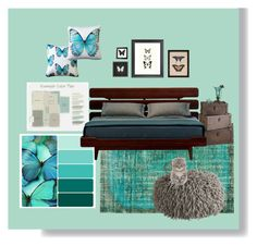 """Butterfly Kisses."" by interiordesign4home on Polyvore featuring interior, interiors, interior design, thuis, home decor, interior decorating, Ethan Allen, Orientalist Home, Dot & Bo en Pillow Decor"