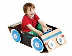 Makedo Find & Make Car play with creation