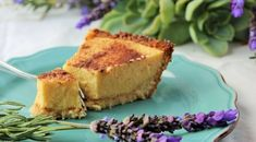 Banting Milk Tart with a coconut Macaroon type Base.   A SA fave!!