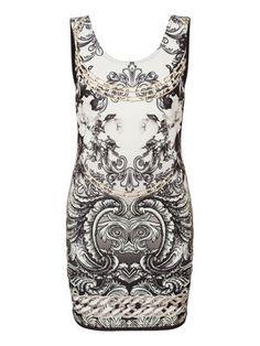 Barock dress  #Dress #Print @Veronica MODA
