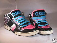 72f076838fa Osiris Womans Shoes sz 10 Great Back to School shoes! South Bronx Girls  Tipos De