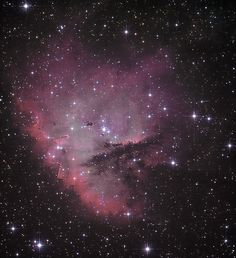 Pac-Man Nebula Experiment LRGB/HaOIII | by astrochuck