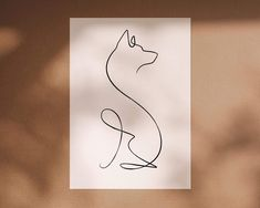 German Shepherd Tattoo, German Shepherd Dogs, German Shepherds, Dog Line Art, Dog Art, Shiba Inu, Akita, Small Dog Tattoos, Husky Tattoo