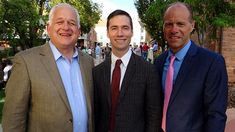 Tom Christofferson, Clark Johnsen and Jeff Benedict at Affirmation
