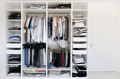 Types of closet organizers.. NEED to do something to upstairs closets