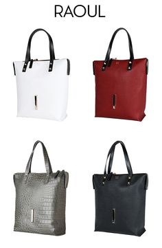 New Talia large leather tote bags from Raoul are perfect for traveling. Jetset in style (or for everyday style) in different color varieties. Use code TALIATOTE for 25% off a purchase, valid 09/16/2015 - 09/26/2015 #taliatote #raoul #zindigo