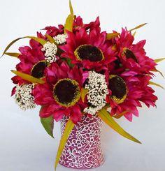 Artificial Floral Arrangement Raspberry by BeautyEverlasting, $34.95