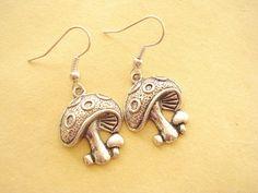 Mushroom Earrings - jjad97's shop ($1.95)