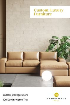 The highest quality luxury furniture in the industry. Endless configurations in stain-resistant performance fabric or fine Italian leather. Free one-on-one design help available. Luxury Furniture, Home Furniture, Custom Furniture, Sectional Sofa With Chaise, Couches, Beauty Salon Design, Kids Bedroom Sets, Studio Apartment Decorating, Stores