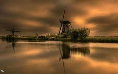 Symphony in Orange (Kinderdijk NL)