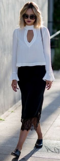 #street #style #fashion #fblogger #spring #outfitideas | Black And White Classic | Late Afternoon
