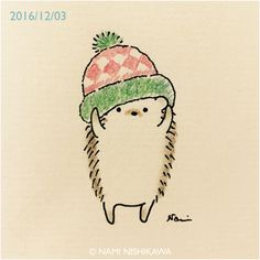 Christmas Hat for Hedgie hedgehog