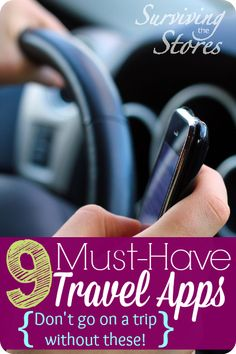 The top travel apps to have before you leave the house! These save us so many headaches on the road!