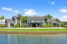 This Balinese inspired resort-style residence is located at Marsden Cove in Northland. Resort Style, Beach Houses, Balinese, Architecture Design, Environment, Construction, Homes, Mansions, Landscape