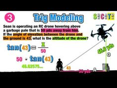 ☆Trigonometry Real World Modeling Word Problems☆ - YouTube