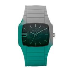Diesel Green and Grey Mens Watch. Love the color fade on this thing. Very different.