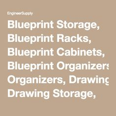Architectural Drawing Holders vis-i-rack for large rolled documents such as blueprints, plans