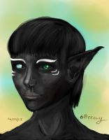 Lillian by beeccy  Digital painted