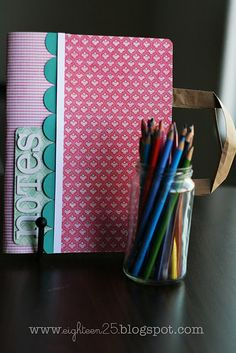 composition book coverup