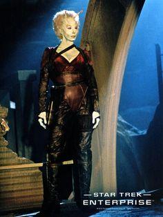 Picture of Suzie Plakson Star Trek Tv Series, Star Trek Cast, Enterprise Nx 01, Star Trek Enterprise, Star Trek Characters, Female Characters, Fiction Movies, Science Fiction, Star Trek Andorian