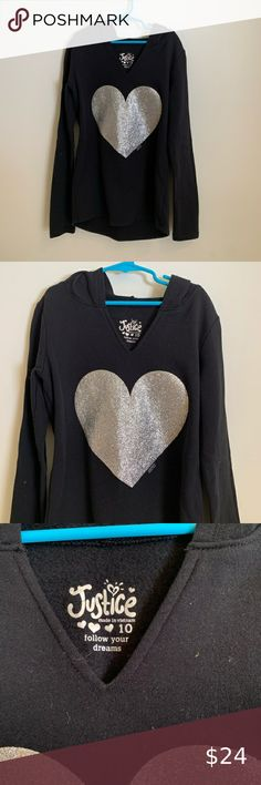 Brand New Girls Lands End Blue Saturn Graphic Long Sleeve Top Size 10-12 Years
