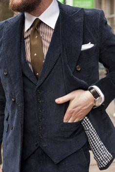 Corduroy Suits Part I: Dressed-Up | TSBmen