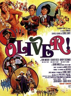Directed by Carol Reed. With Mark Lester, Ron Moody, Shani Wallis, Oliver Reed. After being sold to a mortician, young orphan Oliver Twist runs away and meets a group of boys trained to be pickpockets by an elderly mentor. Oliver Reed, Peter O'toole, Classic Movie Posters, Movie Poster Art, Film Posters, High School Musical, Wallis, Oliver Twist Film, Film Musical
