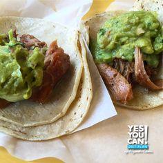 This delicious carnitas taco recipe follows the traffic light diet.