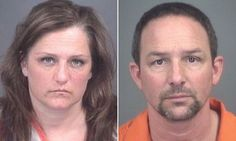 Eric and Angela Corcoran, from Livingston County, Michigan, forced the teenager to sleep in a cold basement with a bed but no sheets, blankets or pillows for three years.