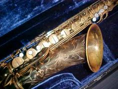 My first and probably only Vintage Saxophone - Balanced Action Tenor Saxophone - Sold on EBay for Tuition for University to some doctor out in the States. My first EBay sell!