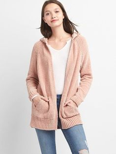 Gap Chenille open-front cardigan