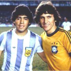 Maradona e Zico!!!!!! Top!!!!!