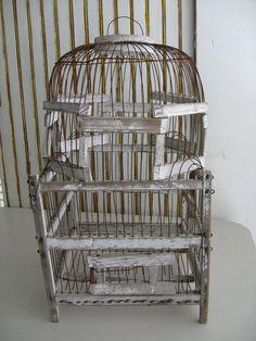 Wire Bird Cage Vintage